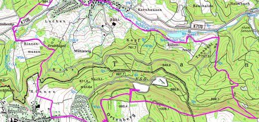 Wanderstrecke-Ortenberg