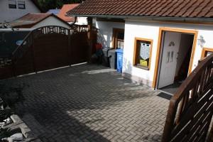 Eingangsbereich Terrassenfläche